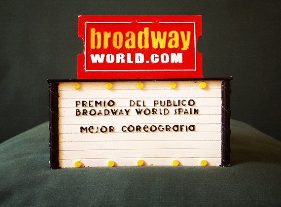 PREMIOS BROADWAYWORLD a COCO COMIN